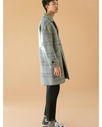 BONNIE&BLANCHE - Multicolor [unisex] Check Single Coat Black for Men - Lyst