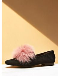 W Concept - Pingo Shoes Black With Pink - Lyst