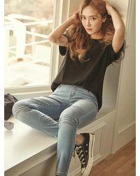 Blanc & Eclare - Multicolor Samara Denim Pants Ss1748lb - Lyst