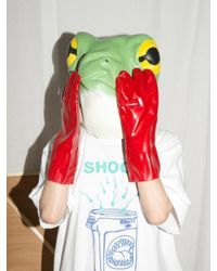 CLUT STUDIO - Shoot Into Trash Half T-shirt - White - Lyst
