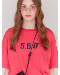 W Concept - [unisex] 5 B O Signature T-shirts_pink - Lyst