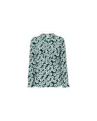 Whistles - Green Daisy Print Blouse - Lyst