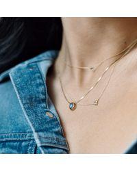 Aletheia & Phos - Metallic Cor Luna Necklace Iolite - Lyst