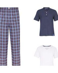 Law of Sleep - White William Pyjama T-shirt for Men - Lyst