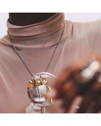 Yasmin Everley Jewellery | Metallic Gilded Scarab Necklace | Lyst