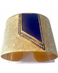 Meghna Jewels - Blue Lapis Cuff - Lyst