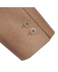 HARMMAN - Brown Modern Camel Coat for Men - Lyst