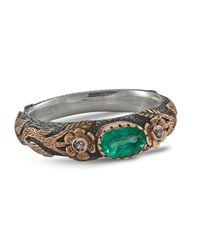 Emma Chapman Jewels - Green Luna Emerald Ring - Lyst