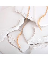 MARINA SKIA - Metallic The Viper Necklace Short 22ct Vermeil - Lyst