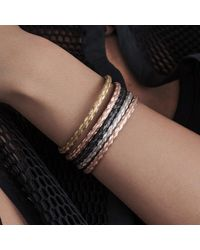 Durrah Jewellery - Metallic Woven Bracelet For Her - Lyst