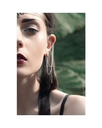 Bug - Metallic Evie Continuous Ear Chains - Lyst