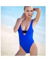 MVM SWIMWEAR - Blue The Crawford Suit - Lyst