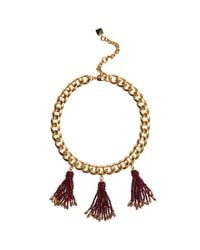 Nocturne - Multicolor Marie Fringe Necklace - Lyst