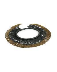 Cara Tonkin - Metallic Vesper Interchangeable Full Swing Bracelet Necklace Gold & Oxidised - Lyst