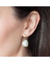 Natasha Sherling - Metallic Meringue Earrings - Lyst