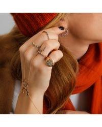Sadekar Jewellery - Metallic Open Gear Rose Gold Ring - Lyst