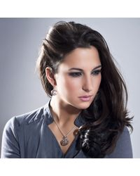 Manja - Metallic Votra Earrings - Lyst