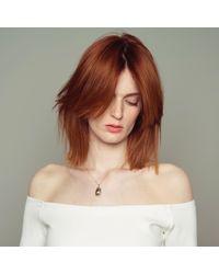Nina Kastens Jewelry - Metallic Mini Scarab Necklace Gold - Lyst