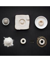 Tadam! Design - Metallic Milky Doughnut With Gold Sprinkles - Lyst