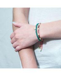 Tada & Toy | Pink Congo Stone Bracelet | Lyst