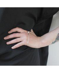 Dorota Todd - Metallic Kosmos Hand Bracelet - Lyst