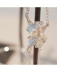 Loveness Lee - Metallic Cairn Chunky Sterling Silver Statement Bracelet - Lyst
