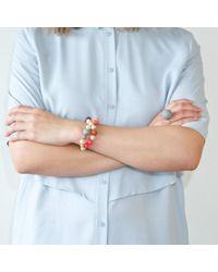 Hring Eftir Hring - Multicolor Pirouette Bracelet Sunset - Lyst