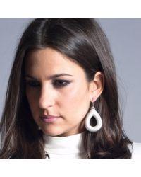 Manja - Metallic Cancion Earrings - Lyst