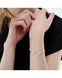 Alison Fern Jewellery - Metallic Jayne Silver Chain Bracelet - Lyst