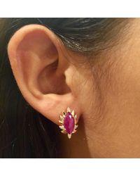 Meghna Jewels - Multicolor Ruby & Diamonds - Lyst