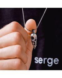 Serge Denimes - Metallic Ram Skull Pendant Necklace for Men - Lyst
