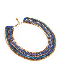 Miss High & Low - Blue Atlantis Necklace - Lyst