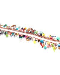 Miss High & Low - Metallic Single Ladies Necklace - Lyst