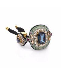 Izabela Felinski - Elegant Navy Blue Bracelet - Lyst