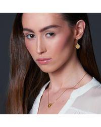 Liwu Jewellery - Metallic Love Silver Earrings - Lyst