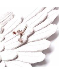 GFG Jewellery - Niki Studs White Sapphire - Lyst