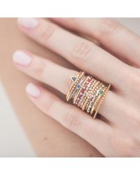 Joana Salazar - White The Calendar Mix Box Ring - Lyst