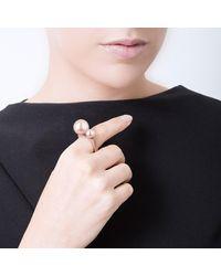 SOLOMEINA - Pink Rose Proun Ring - Lyst