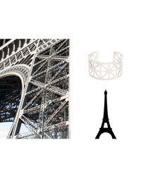 Mademoiselle Felee - Metallic Paris Tour Bangle Gold - Lyst