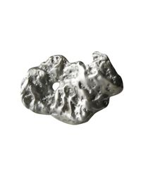 Linnie Mclarty - Metallic Prospector's Ring Silver - Lyst