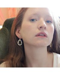 Cielle   Multicolor Crystal Teardrop Earrings   Lyst