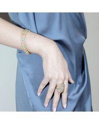 Cielle | Multicolor Pastel Geometric Square Bracelet | Lyst