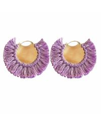 Ricardo Rodriguez Design - Pavone Earrings Purple - Lyst