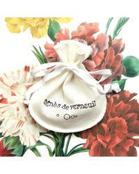 Agnes De Verneuil - Metallic Silver Necklace Tiny Sun - Lyst