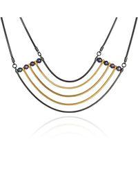 Cara Tonkin | Metallic Orbit Cosmos Necklace Silver | Lyst