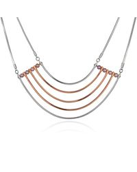 Cara Tonkin | Metallic Orbit Cosmos Necklace Rose Gold | Lyst
