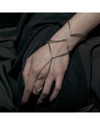 Ware London - Metallic Ditto Ring - Lyst