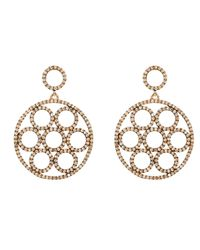 Latelita London | Metallic Olympics Earring Rosegold Champagne | Lyst