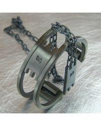 Jan D - Black Metropolis Bracelet for Men - Lyst
