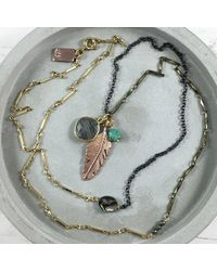 Brave Lotus - Metallic Brave Spirit Necklace - Lyst